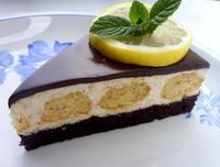 Citromos-csokis torta