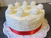 Raffaello-torta