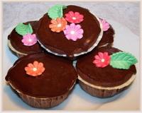 Milka-muffin