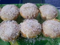 Kokuszos muffin