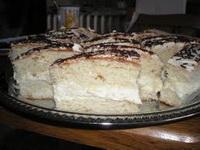 Saint-Tropez-i sütemény