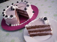 vorosboros-kekszolo torta