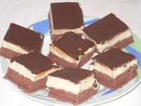 Csokoládés habszelet