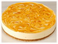 Maracujás-mangós joghurt torta