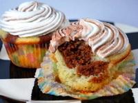 Márvány muffin recept