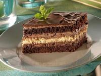 mentas csokolade szelet