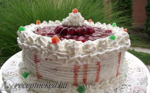 Tejszínes torta recept