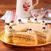 karacsonyi marcipanos mogyoros torta