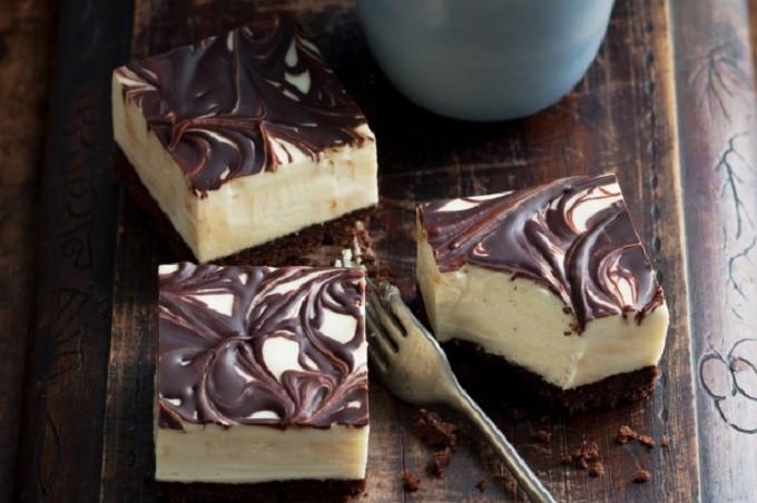Csokis mascarpone torta sütés nélkül