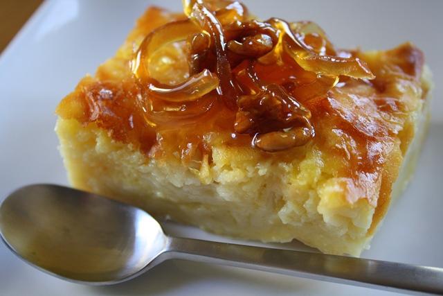 Portokalopita a görög desszert