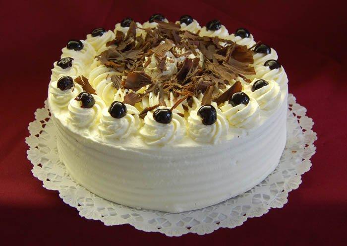 Áfonyakrémes torta