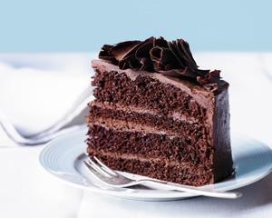 Francia duplacsoki torta