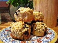Zabpelyhes muffin juharsziruppal