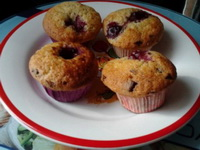 meggyes-muffin