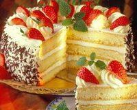 Epres-Habos-piskóta-torta