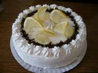 Tejszínes-görög citromos joghurttorta recept