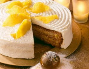 Ananászos-mézes torta