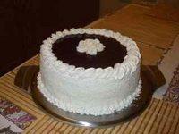 Kókuszos-meggyes torta