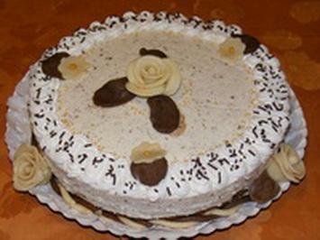 Csokis-mandulás torta
