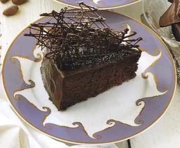 Csokoládés iszaptorta