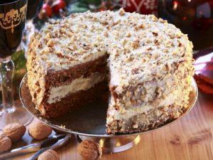 Mogyorós torta