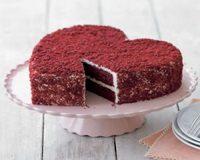Mascarpones vörös bársony torta