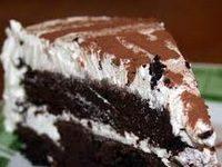 Fehércsoki-trüffeles csokitorta