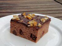 Vörösboros csokis kocka