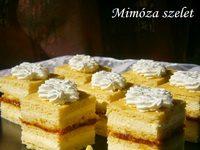 mimóza szelet 2