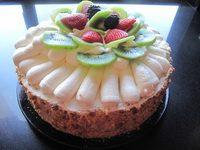 ricotta torta gyumolccsel