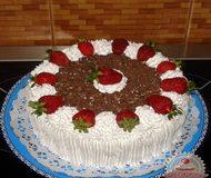 sztracsatella-torta