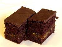 Csokis kocka vaníliakrémmel