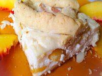 Nektarinos-vaníliakrémes süti
