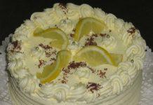 citrom torta-recept