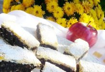 Almás mákos lepény