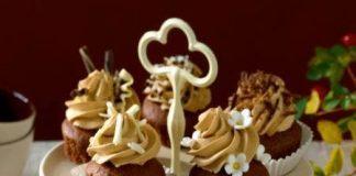 Csokis muffin kávéhabbal