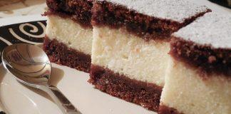 Csokis túrós süti