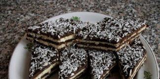 Kókuszos sütemény recept