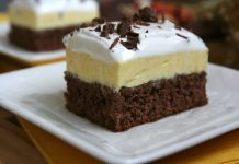 Csokoládés vaníliakocka ezt az ellenállhatatlanul fincsi sütit mindenki szereti