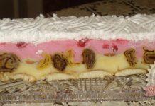 Málnás csodapalacsinta-torta