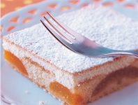 Sárgabarackos sütemény