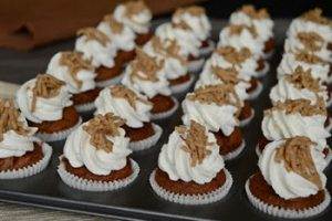 Gesztenyés mini muffin