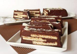 Csokoládés szelet nápolyival