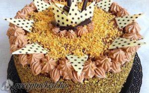 Nutellás mascarpone torta recept