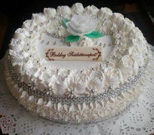 Madártejkrémes torta