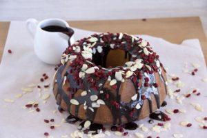 Bögrés csokis-mandulás kuglóf
