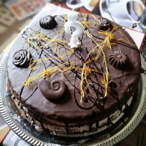 Csokoládés narancsos torta