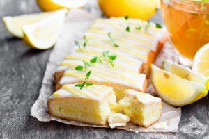 Cukormázas citromos sütemény
