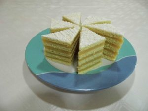 Karamellás szelet, káprázatos sütemény