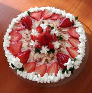 Bécsi epres-krémes torta